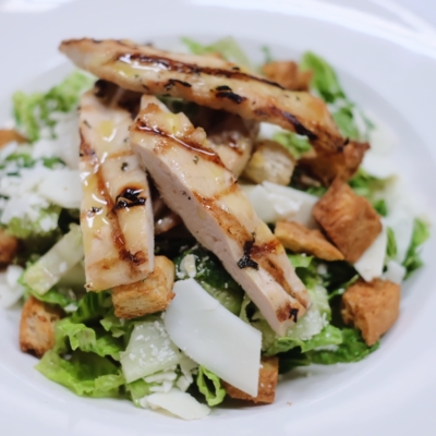 Ceaser Salad with Grilled Chicken
